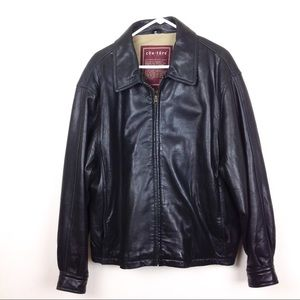 Couture by J Park Leather Moto Jacket L @